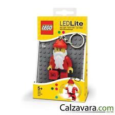 Lego Classic Portachiavi con Luci Led Keylight Torcia - Babbo Natale