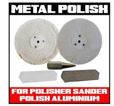 METAL ALLOY POLISHING POLISH KIT SANDER/POLISHER TRUCK ALUMINIUM BULLBAR TANK