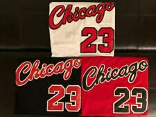 1984 ROOKIE Michael Jordan #23 Men's Chicago Bulls RED/WHITE/BLACK Sewn Jersey