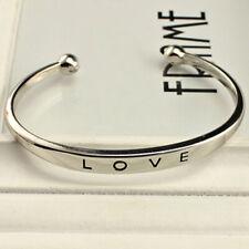 76a8ce0796e2 brazalete pulsera abierto LOVE Rosa oro Plata oro mujer regalo de joyería