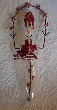 "Snowman Christmas Ornament Decoration 7.5"" Tall"