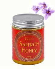 500 Grams Raw Saffron Honey