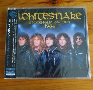 Whitesnake - Live Stockholm, Sweden 1984 - 2CD Japanese OBI - New & Sealed