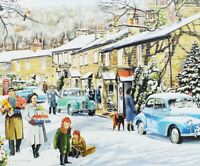 Christmas Jigsaw Puzzle Snowy Village 1000 Pieces - New, Boxed & Sealed