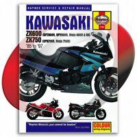 1985-1997 Kawasaki Ninja 600R Haynes Repair Manual 1780 Shop Service Garage