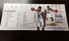 Ucla Basketball Magnet Schedule 2014/2015 Giveaway