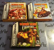 Donkey Kong Country 1 2 3 Complete Nintendo GameBoy Advance SP Micro DS Lite dsl