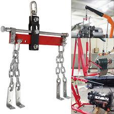 1600lb 750kg Engine Crane Hoist Leveller Chain Load Garage Loading Balancer New