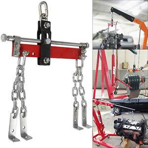 1650lb 750kg Engine lifting balancer crane leveler chain load garage loading