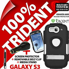 New Trident Kraken AMS Rugged Case for Samsung i9300 Galaxy S3 + USB Car Charger