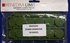 Renedra bases 25mm