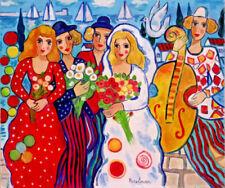 Multi-Colour Contemporary Art Portrait Art Paintings