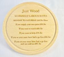 I tassi di lavoro Officina, Garage Officina lavorazione legno artigianato Wall Art personalizzata