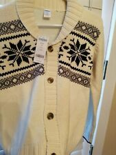 Gymboree sweater - winter print snowflake New with tags