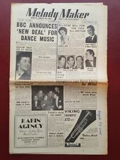Melody Maker - October 3rd 1953 - Music Newspaper Magazine Paper #B903