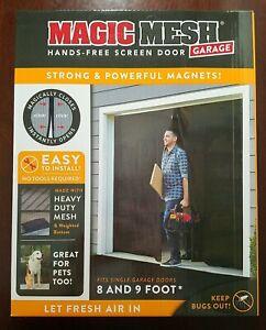 Magic Mesh® Garage Hands-Free Screen Door P53