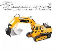 RC Schaufel Kettenbagger Bagger 517J 1:27 Jamara ferngesteuert Baufahrzeug Sand