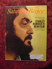 Saturday Review December 25 1971 Stanley Kubrick A Clockwork Orange