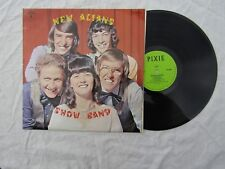 NEW ALIANS SHOW BAND LP SELF TITLED pixie 0003 signed......33rpm
