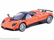 MOTORMAX PAGANI ZONDA F ORANGE 1/24 DIECAST CAR without box 74369D