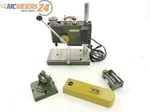 E293 Proxxon 28121 Tischbohrmaschine TBS 220 mit Schraubstock