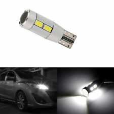 2X T10 Car Side LED Light Bulbs Canbus Error Free Xenon 10LEDS 501 W5W GL483