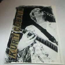 Nirvana Sticker New 2014 Vintage Oop Rare Collectible Kurt Cobain