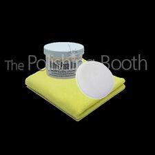 POORBOYS de Natty blanc Cire pâte avec microfibres et microfibre Application