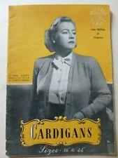 MINERVA  Series by Jane Koster & Margaret Murray  - CARDIGANS