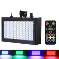 Remote Control 180 LED Strobe Flash Light Stage Lamp 35W RGB for Disco DJ Bar M&