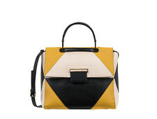 Furla Artesia Color Block Medium Top Handle Bag New