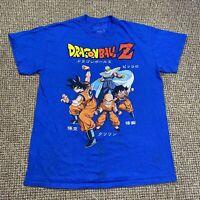 Ripple Junction Dragon Ball Z Goku Blue T Shirt M Top Anime Japan Cartoon