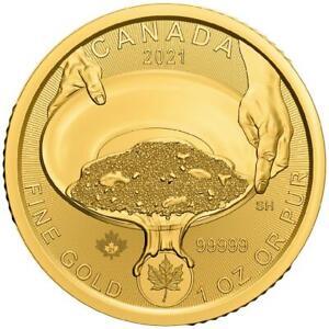Kanada - 200 Dollar 2021 - Klondike-Goldrausch (1.) - 1 Oz Gold ST