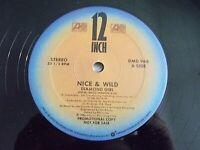 "Nice & Wild Diamond Girl 12"" Single 1986 Atlantic Promo Vinyl Record"