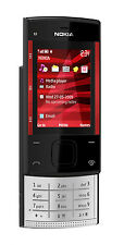 Original Nokia X Series X3-00 Black/red (Unlocked) Cellular Phone,MP3,GSM,3.2MP