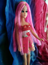 Topper Dawn doll dark pink/fuscia highlights by ME PRETTY! OOAK