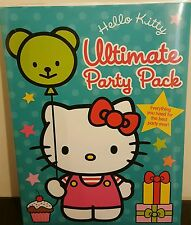 Hello Kitty Large Ultimate Party Pack, Party Planner & ALbum book Plus MORE :-)