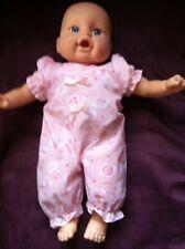 Lifelike  Baby Doll appr 14''  Newborn Soft Body Hong Kong City Toy 2000 Talking