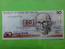 Brasil 50 Cruzeiros 1990 (GEM UNC) AA