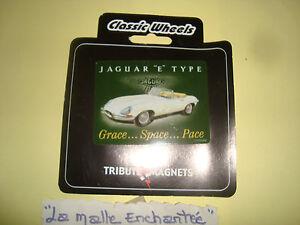Magneti Classic Wheels Jaguar Tipo e 8X6 CM