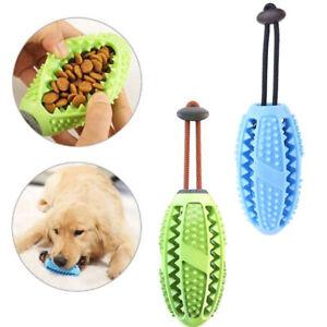 2× Haustier Hundespielzeug kauen Zahnbürste Unzerstörbar Intelligenz Blau Grün