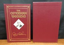 THE OSTERMAN WEEKEND By Robert Ludlum SIGNED NUMBERED LTD. ED. IN SLIPCASE