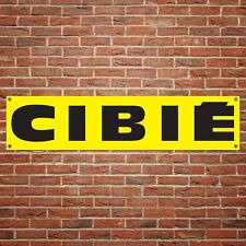 Cibie Banner Garage Workshop PVC Sign Trackside Car Lights Display