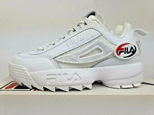 Fila Disruptor 2 Patches 'White' New Womens (Size US5) casual plus 90 1 tn