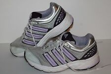 Adidas Response Cushion Running Shoes, #G41110, Grey/Lav/Ppl,Women 7.5, Youth 6