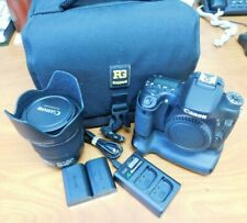 2013 Canon Eos 70D Camera w/15-85mm Lense, Battery pack, charger, 2x batts, &Bag