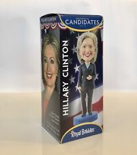 "Hillary Clinton Bobblehead Executive Series Royal Bobbles 8"" NIB"
