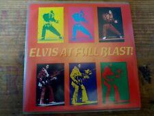 RARE ELVIS PRESLEY CD - ELVIS AT FULL BLAST! - FORT BAXTER