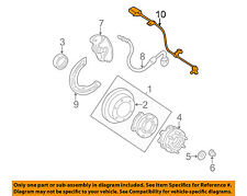 GM OEM ABS Anti-lock Brakes-Front Speed Sensor 19181884