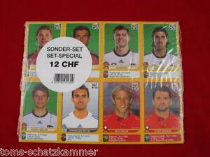 Panini WM 2010 alle 80 Update Extra Sticker Edition Schweiz Swiss OVP WC 10